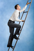 Climbing upwards — Stock Photo