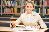 Diligent student — Stock Photo