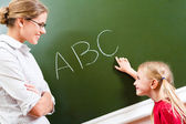Learning letters — Stock Photo