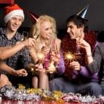 divertimento Natale — Foto Stock