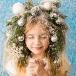 Winter fairy tale — Stock Photo