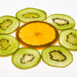 Sunny fruits - Stock fotografie