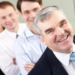Boss and team — Stock Photo