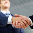 Happy handshake — Stock Photo #10731356