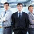 Group of managers — Stock Photo