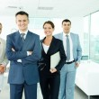 Happy managers — Stock Photo #10731550