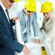 Royalty-Free Stock Photo: Architects working