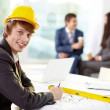 Modern engineer — Stock Photo