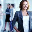Charming businesswoman — Stock Photo