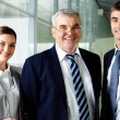 Stock Photo: Happy leaders