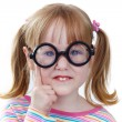 Little nerd — Stock Photo