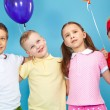Kids with balloons — Stock Photo #10732387
