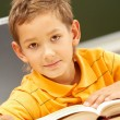 Stock Photo: Youthful reader