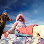 Winter recreation — Stock Photo #10732442