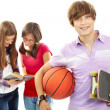 Active teenager — Stock Photo