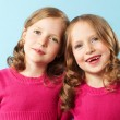 Twin girls — Stock Photo #10732572