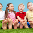 Group of kids — Stock Photo