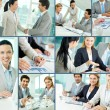 Business team at work — Stock Photo #10732822