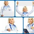 Elderly doctor - Stockfoto