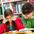 Diligent pupils - Stock Photo