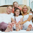 Family at home — Stock Photo #10733111