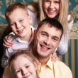 Family joy — Stock Photo