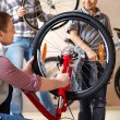 Repairing bike — Stock Photo #10733148