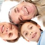 Smiling family — Stock Photo #10733233