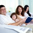 Friendly family — Stock Photo #10733249