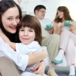 Affectionate siblings — Stock Photo