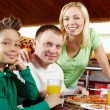 Family at lunch — Stock Photo #10733322