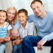 Stock Photo: Joyful family