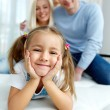 Stock Photo: Smiling child