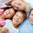 Parents and kids - Stock Photo