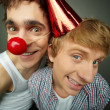Royalty-Free Stock Photo: Like clowns