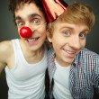 Like clowns — Stock Photo #10733635