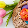 Easter craft - Stock Photo