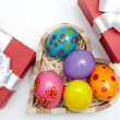 Easter presents — Stock Photo