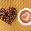 Royalty-Free Stock Photo: Love for coffee