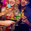 Drinking cocktails — Stock Photo