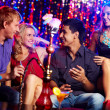 Friends at party — Stock Photo