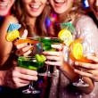 Holding cocktails — Stock Photo #10734030