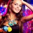 Charming clubber — Stock Photo