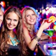 Friendly clubbers — Stock Photo