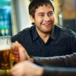 In a pub — Stock Photo