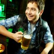 Guy in pub — Stock Photo