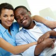 African couple — Foto de Stock