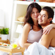 Stock Photo: Morning lovers