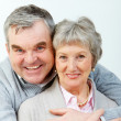 Stock Photo: Charming senior couple