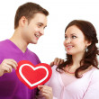 Loving couple — Stock Photo #10734784